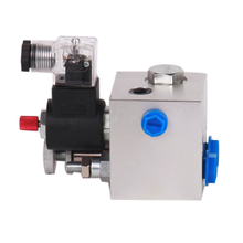 LL258 Hydraulic Solenoid Lifting Mini Manifold with cartridge valves