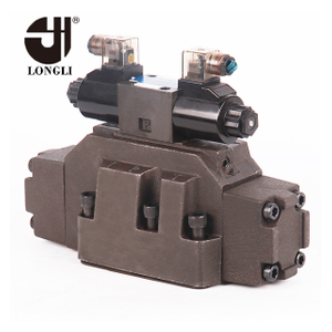 DSHG-10 hydraulic Yuken flow operated directional control valve