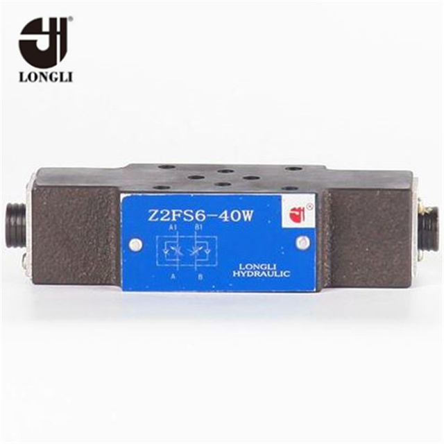Z2FS22 Rexroth Type double acting hydraulic valve sandwich double throttle check valve