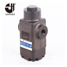 CPDT-03 06 10 Hydraulic Yuken type pilot operated safety check valve