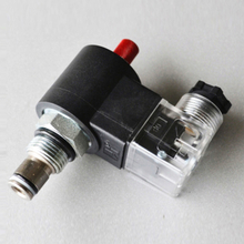 DHF08-220H/SV08-20M Two Way Two Position normally closed hydraulic cartridge valve with manual button