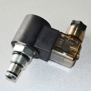 DHF08-225/SV08-25 Solenoid-operated, 2-way, normally open, spool-type, direct-acting, screw-in hydraulic cartridge valve