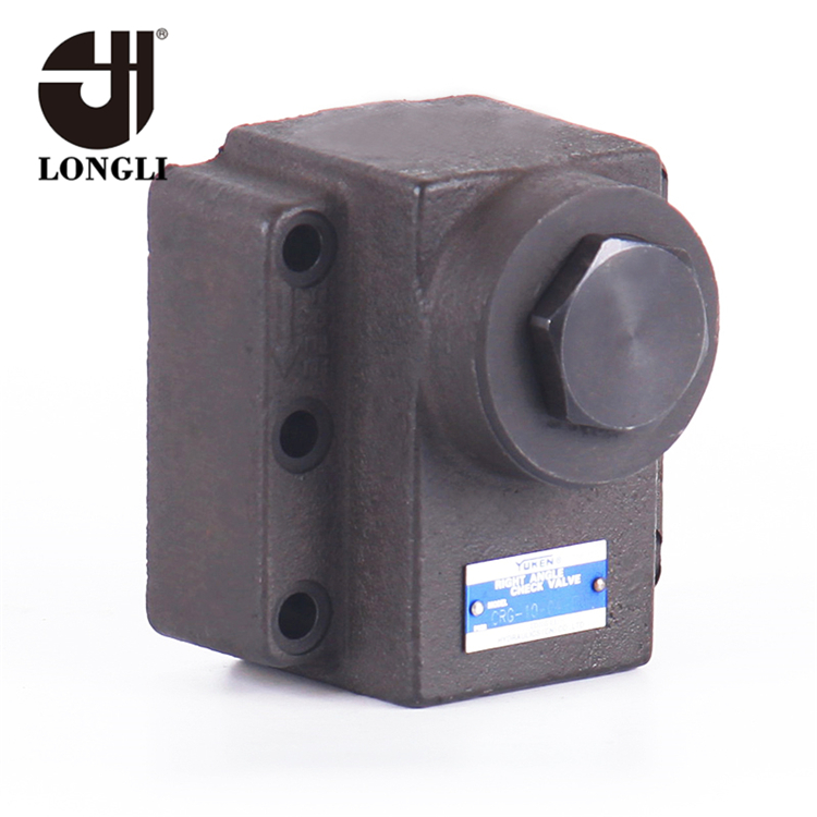 CRNG-06 Hydraulic Pressure Right Angle Check Directional Valve