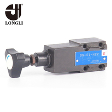 DT01 Hydraulic Pressure Relief Valve Manual Flow Valve